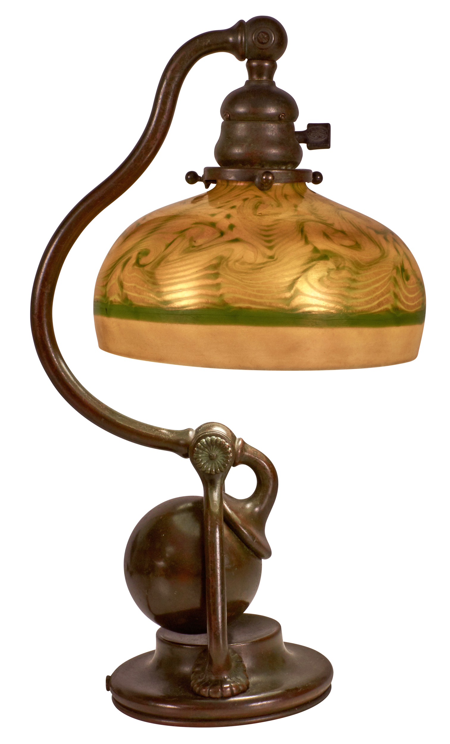 Tiffany Studios Counterbalance Lamp Treadway Gallery