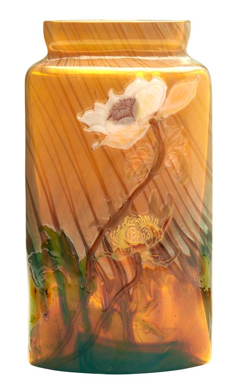 Galle Poppies vase