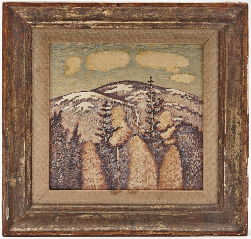 Marsden Hartley oil on canvas