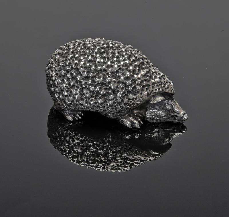 Mario Buccellati hedgehog sterling silver