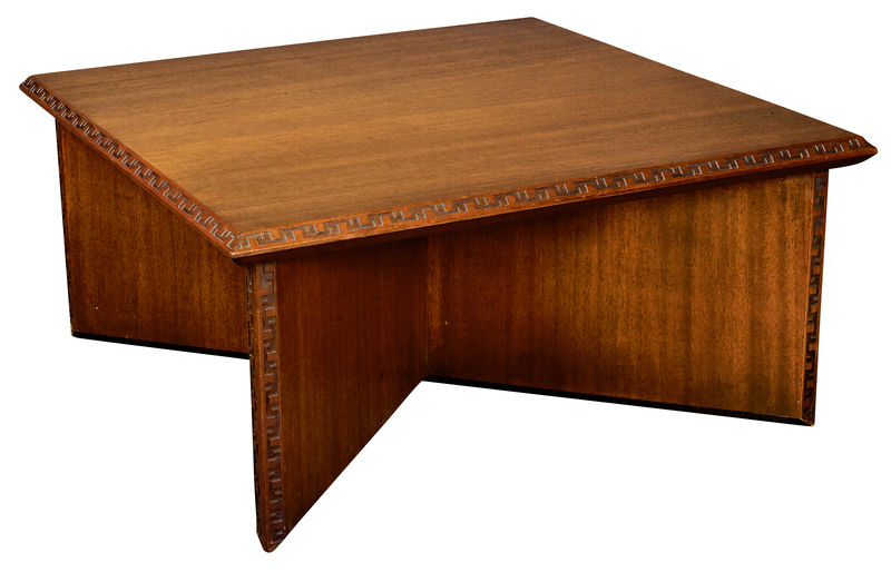 Frank Lloyd Wright for Henredon Taliesin side table