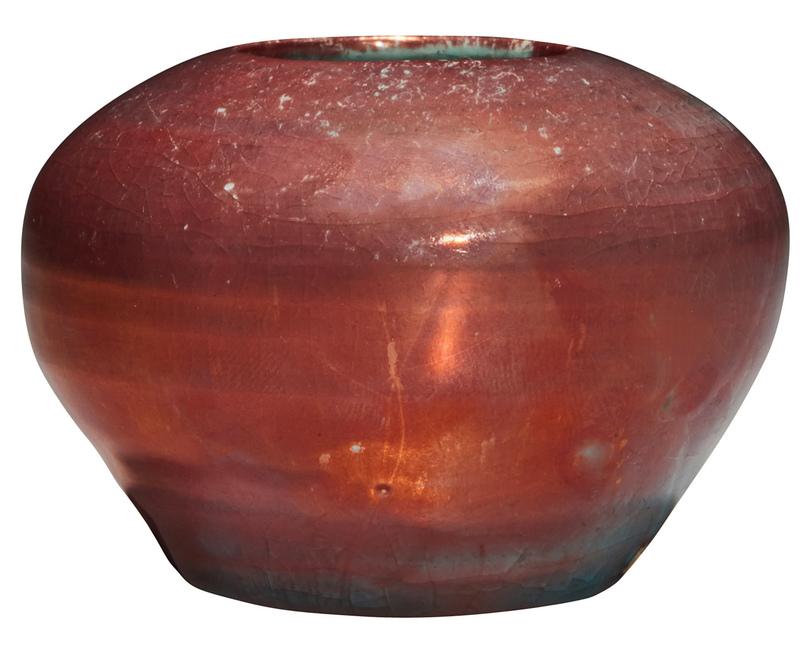 Pewabic vase