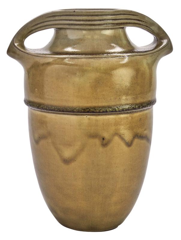 Henry van de Velde for August Hanke Hohr handled vase
