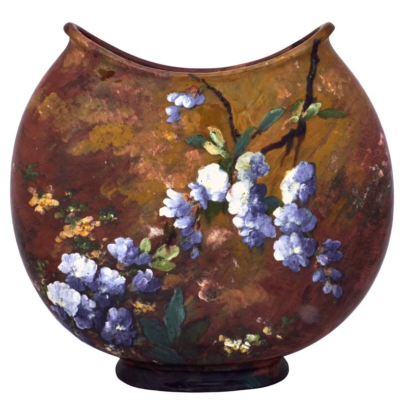 Henri Lambert for Haviland & Co. Floral vessel