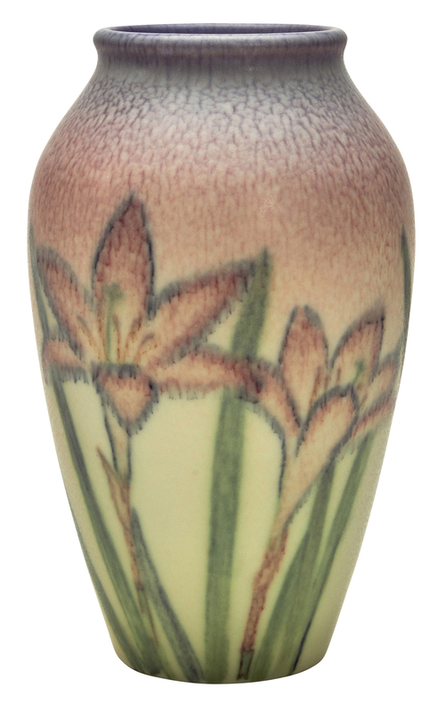 Kataro Shirayamadani for Rookwood Pottery Lily vase