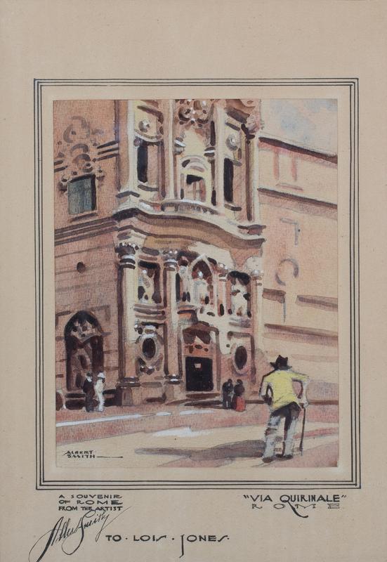 Albert Alexander Smith Via Quirinale Rome