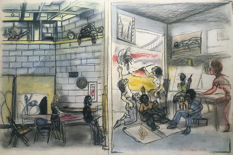 Joseph Delaney Art Students League