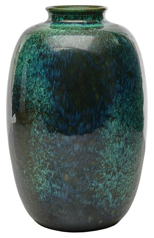 Ruskin Pottery vase