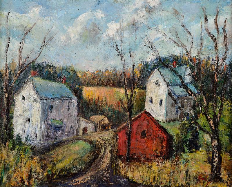 Rex Goreleigh The Red Barn