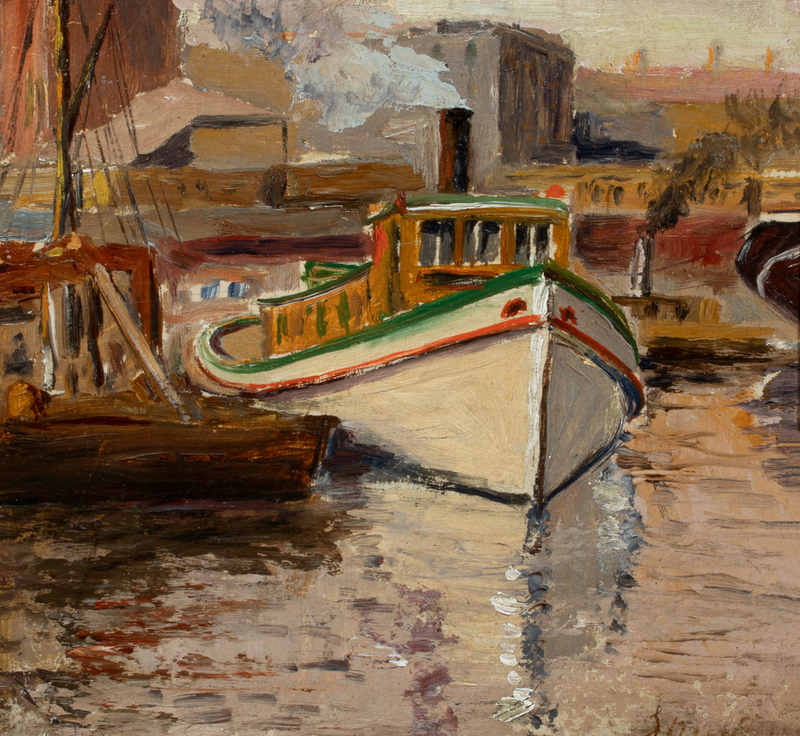 James Bolivar Needham Chicago River