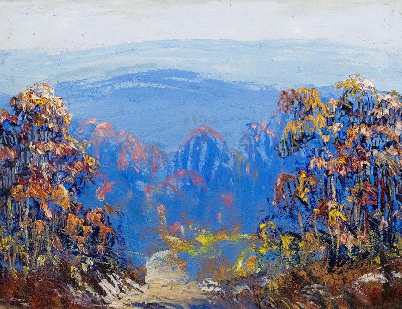 John Wesley Hardrick Landscape