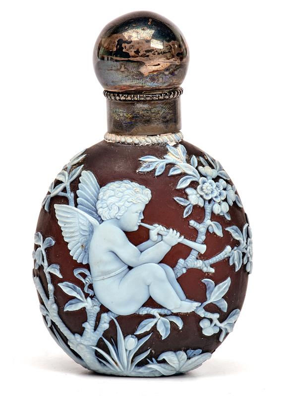 George Woodall for Webb perfume bottle