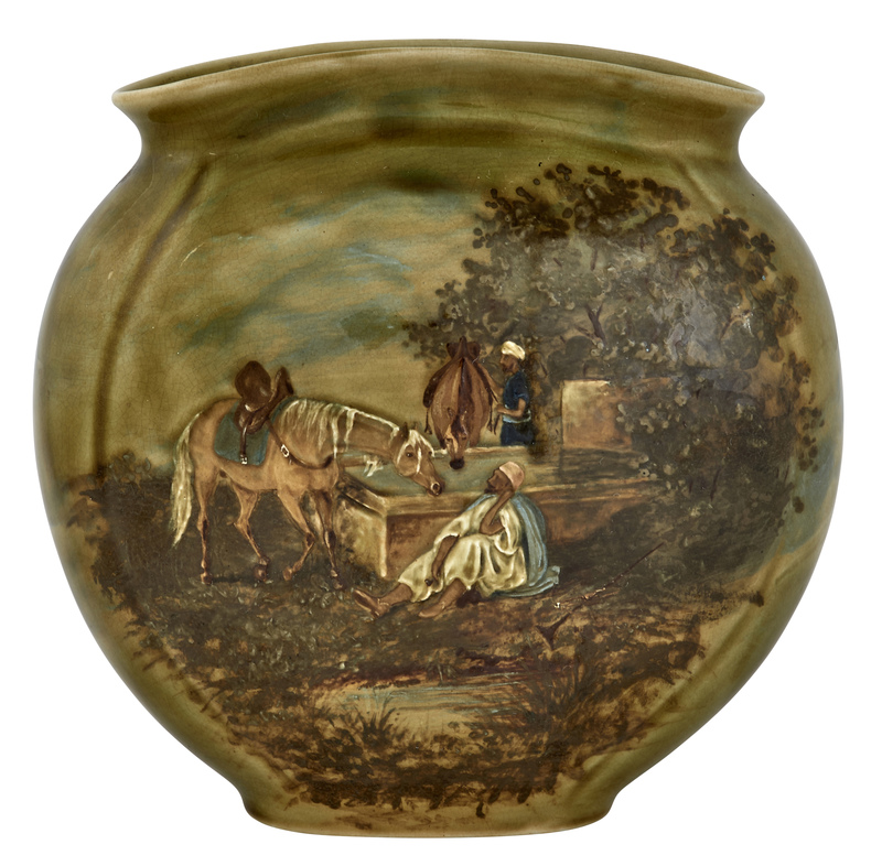 E. Bennett Pottery Co. vase