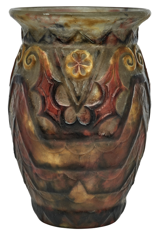 G Argy Rousseau vase