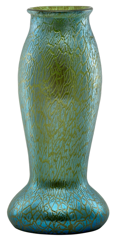 Loetz Crete Papillon vase