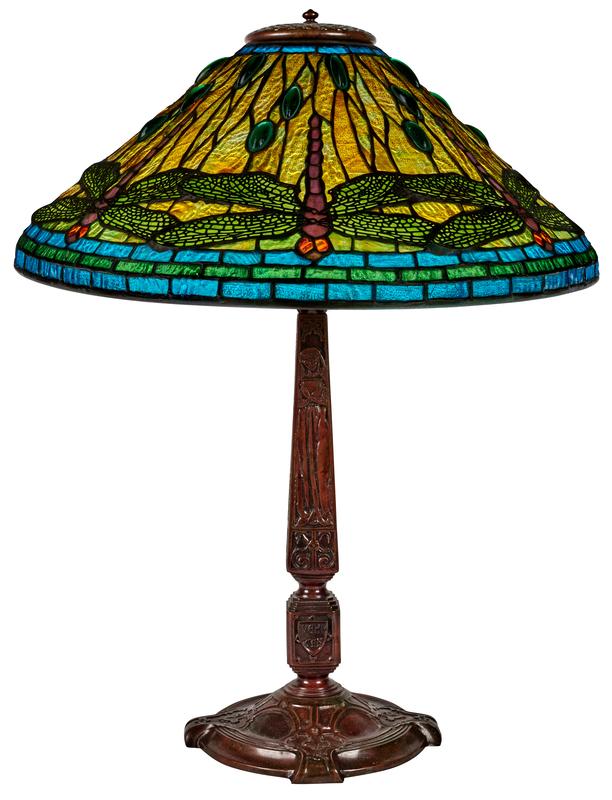 Tiffany Studios Dragonfly lamp