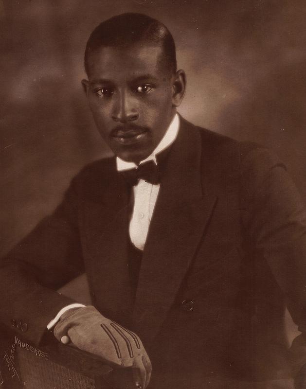 James VanDerZee Studio Portrait of an Elegant Gentleman