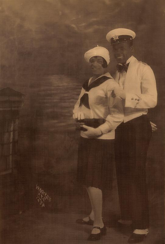 James VanDerZee Studio Portrait of a Couple