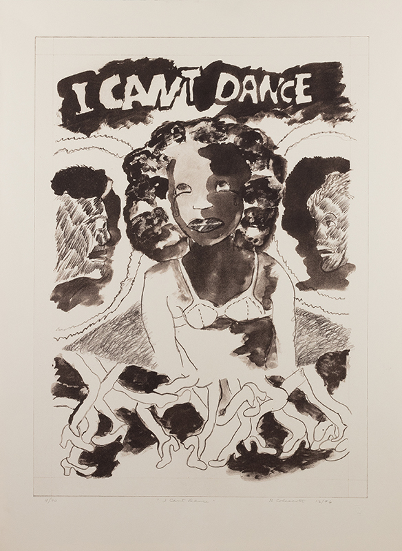 Robert Colescott I Can't Dance
