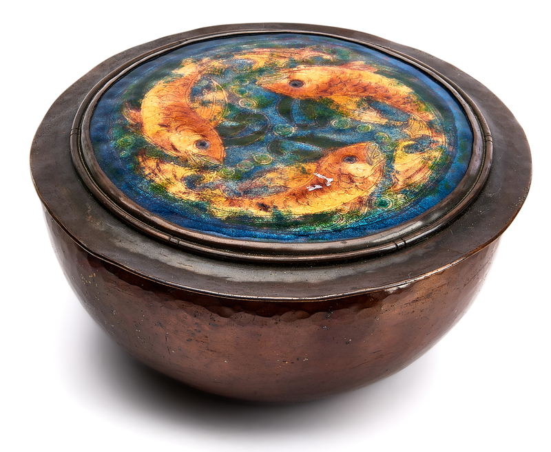 Gertrude Twichell Fish box