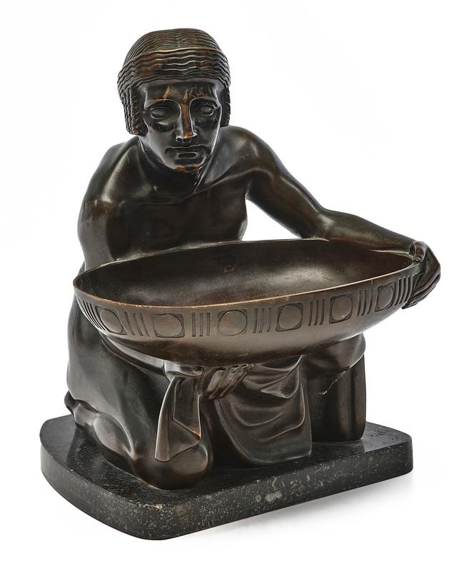 Gustav Gurschner sculpture