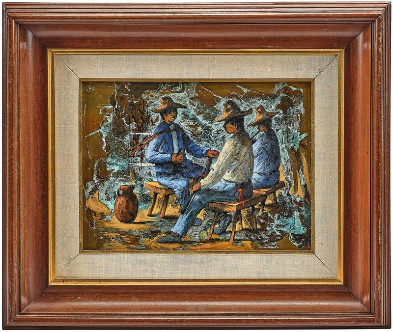 Armando Morales painting