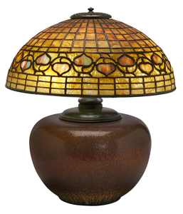 Tiffany Studios Leaf and Vine table lamp, #533