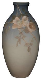 Helen Stuntz for Rookwood Pottery Wild Rose vase