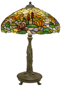 The Wilkinson Co. Water Lily table lamp