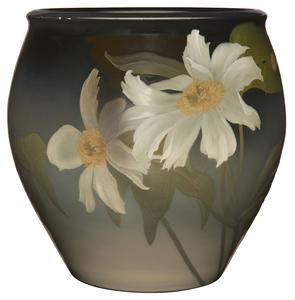 Rookwood Pottery by Sara Sax Peonies jardiniere