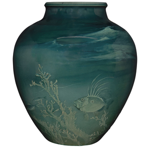 William P. McDonald for Rookwood Pottery vase