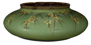 Sara Sax for Rookwood Pottery Cherry Blossom low bowl