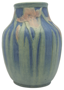 Anna Frances Simpson for Newcomb College Iris vase