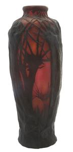 Daum Landscape vase
