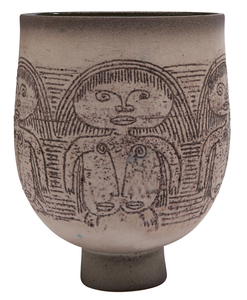 Edwin and Mary Scheier vase