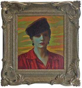 Claude Buck oil on canvas
