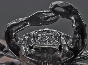 Mario Buccellati crab sterling silver