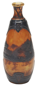 Galle  Landscape vase