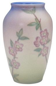 Rookwood Pottery by Kataro Shirayamadani Cherry Blossom vase