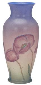 Rookwood Pottery by Kataro Shirayamadani Poppies vase
