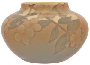 Kataro Shirayamadani for Rookwood Pottery Dogwood vase