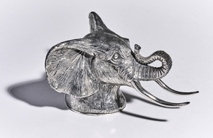 Mario Buccellati Elephant bottle opener sterling silver