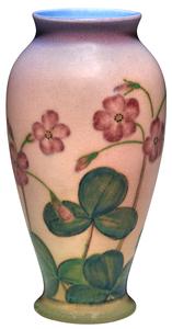 Kataro Shirayamadani for Rookwood Pottery Floral vase