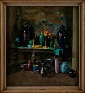 John D. Wareham oil on canvas