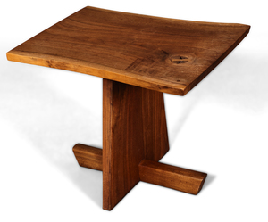 George Nakashima Greenrock side table