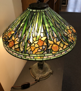Tiffany Studios Daffodil lamp