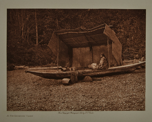 Group of 11 small Edward Curtis photogravures