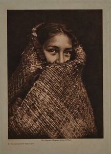 Group of 10 small Edward Curtis photogravures