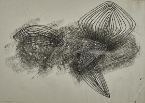 Harry Bertoia monoprint, Synchrony Series