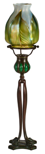 Tiffany Studios Pawfoot candlestick